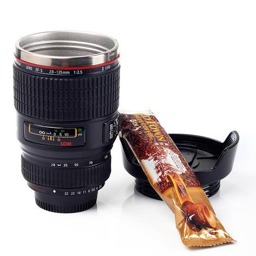 【为思礼】单反相机镜头杯 加高佳能款 咖啡杯 创意杯 时尚潮品 创意礼物 商品图0