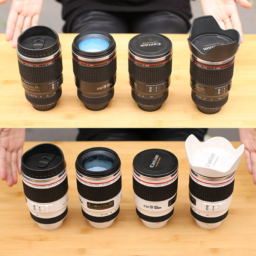 【为思礼】单反相机镜头杯 加高佳能款 咖啡杯 创意杯 时尚潮品 创意礼物 商品图3
