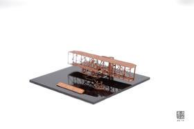 铜质手作古董飞机模型