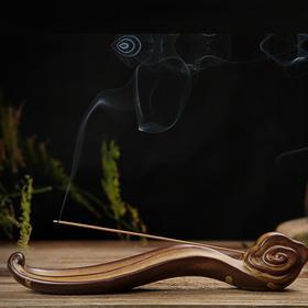 【预售包邮】复古仿古陶瓷人生如意香炉创意宫廷熏香炉 小荷叶香插