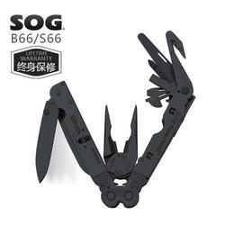 拆弹部队专用!美国原装设计索格 SOG B66 多功能工具钳 黑色