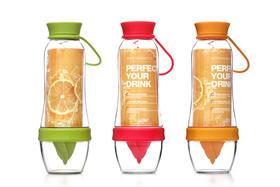 包邮 Artiart 活力瓶(橙色)果意杯 运动榨汁柠檬杯 链接水果与身体的新方式