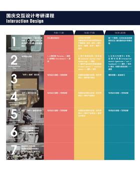 交互设计考研课程 |国庆快题设计+史论
