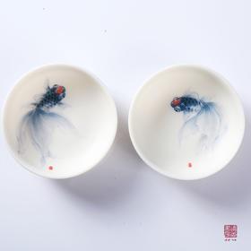 脂玉杯  送礼佳品 文化品位 艺术格调