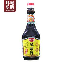 厨邦味极鲜酱油760ml-008570