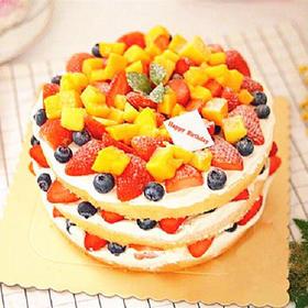 新年新气象 | 用这款鲜果蛋糕为自己新一年加油!