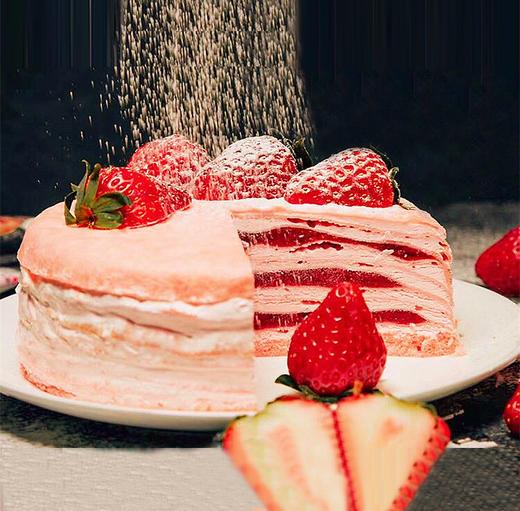 草莓红丝绒千层 | 女生最爱的味道 商品图0