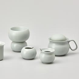 哲品家居 佐藤大设计卵石系列高骨瓷创意现代手冲咖啡器皿套装