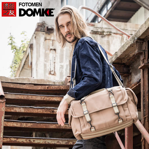 美国DOMKE杜马克F-7大容量专业摄影旅行包单反相机包镜头包单肩包 商品图0