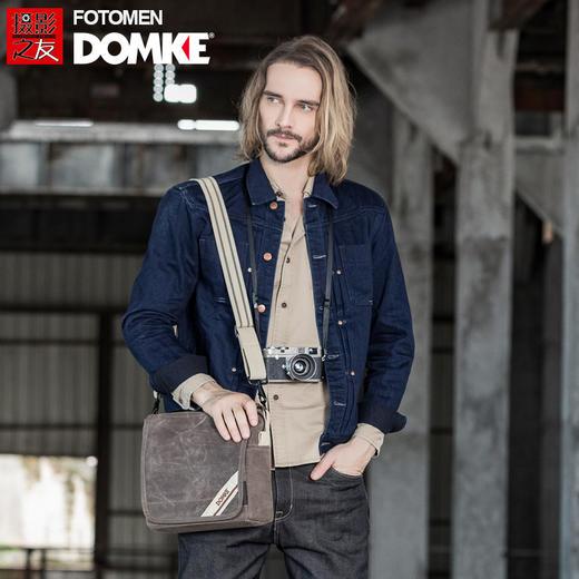 美国DOMKE杜马克 F5XZ摄影包单反相机包复古蜡布单肩休闲包通勤包 商品图0