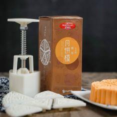 百钻冰皮月饼模具 手压式家用做广式月饼绿豆糕烘焙工具50克100g 商品图0