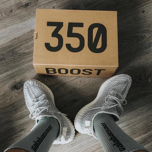 夏日最佳穿搭!Yeezy Boost 350 V2 Static半透明系列超值来袭情侣款低帮运动鞋- 隔壁的张叔叔