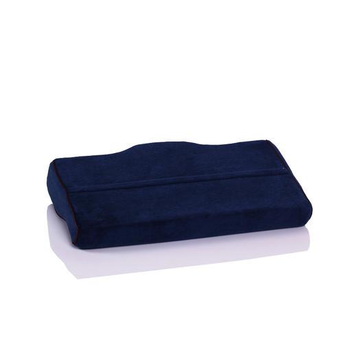 【颈椎按摩师】蝶形慢回弹记忆棉睡眠枕 放松颈椎 改善打鼾  热卖 商品图2