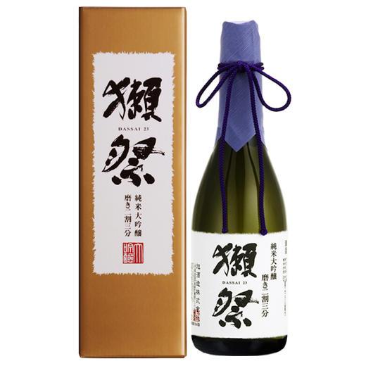 【积分加价购】[獭祭]23二割三分山田锦纯米大吟酿清酒720ml 商品图1