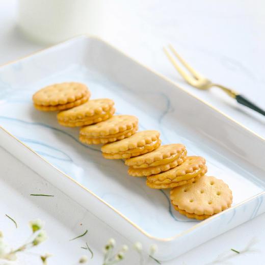 【积分加价购】[咸蛋黄夹心小饼干] 咸蛋黄含量12%  三袋装 商品图3
