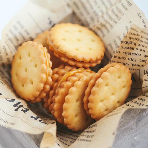 【积分加价购】[咸蛋黄夹心小饼干] 咸蛋黄含量12%  三袋装 商品图0