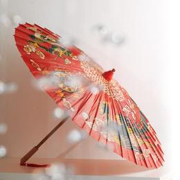 石印龙凤呈祥泸州桐油伞