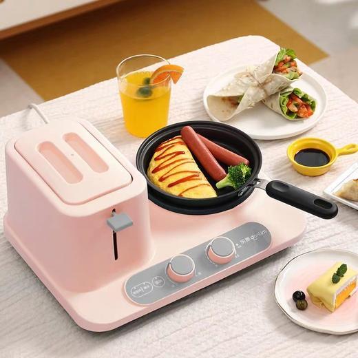 优选】Donlim/东菱DL-3405多功能早餐机三合一全自动多士炉吐司家用烤面包机- 今日优选