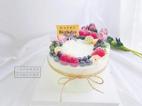 小清新鲜果蛋糕·简约风蛋糕