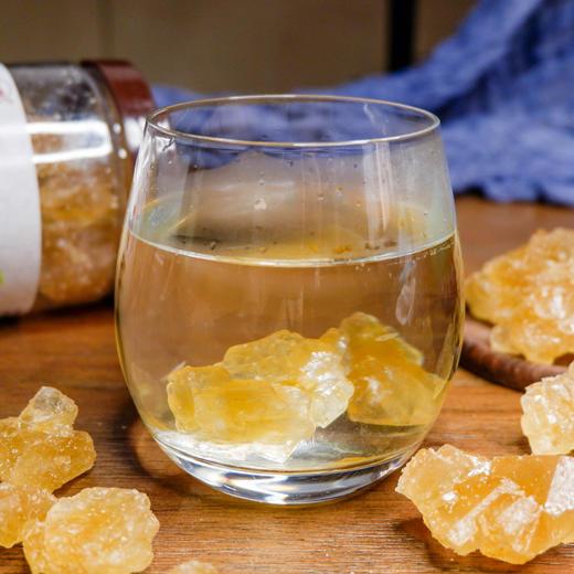 弥勒竹园古法冰糖 原汁原蔗 甜而不腻  传统工艺制作 500克 商品图4