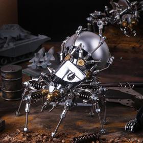 【潮酷机械美学  诠释朋克艺术】机械党炫酷模型  原创设计  趣味实用