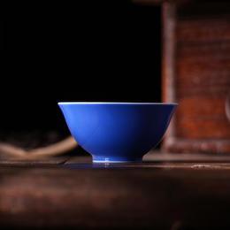 宝瓷林 宝石蓝釉单杯