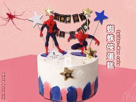 <社群VIP>蜘蛛侠卡通蛋糕