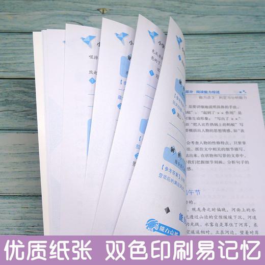 【开心图书】小学生阅读能力提升范本基础篇+巩固篇+培优篇+冲刺篇全4册 商品图3