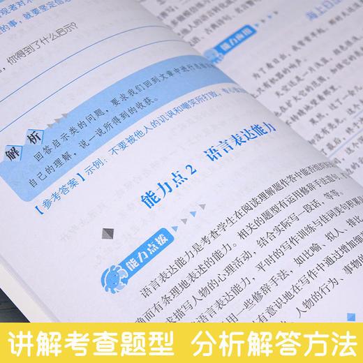 【开心图书】小学生阅读能力提升范本基础篇+巩固篇+培优篇+冲刺篇全4册 商品图4
