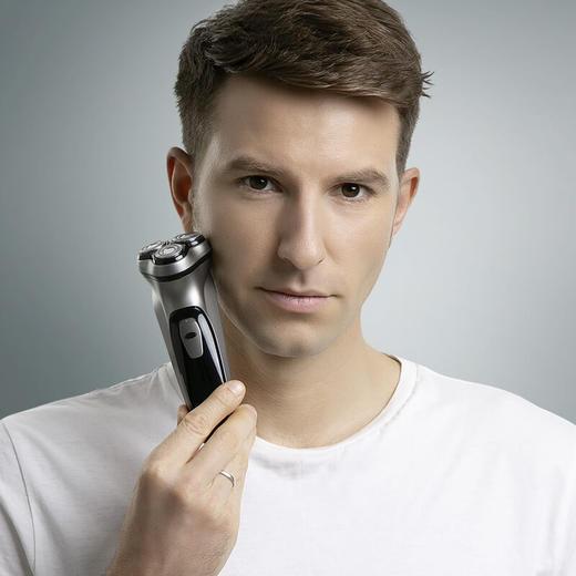 【充一次电 用60天】映趣剃须刀  3D悬浮刀头  不卡胡须 商品图0