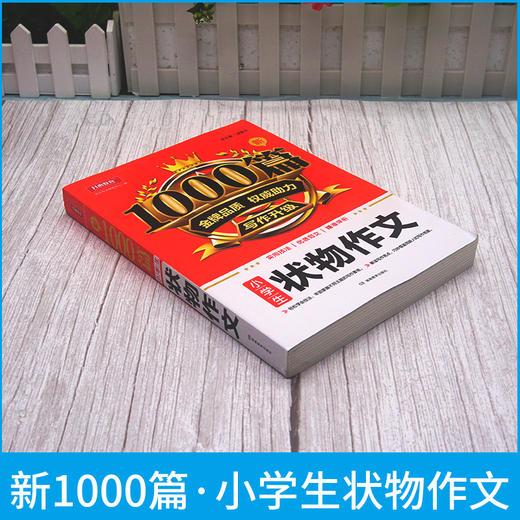 【开心图书】新1000篇·小学生写人叙事写景状物想象读后感作文全系列 商品图10