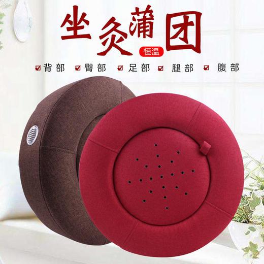 蒲团艾灸垫 |  坐灸熏蒸仪 暖宫祛湿寒 美容院都在用 商品图0