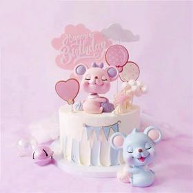 鼠宝宝Lucky baby·新年卡通蛋糕