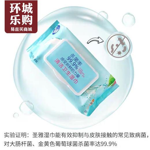 圣雅杀菌清洁卫生湿巾-510180 商品图0
