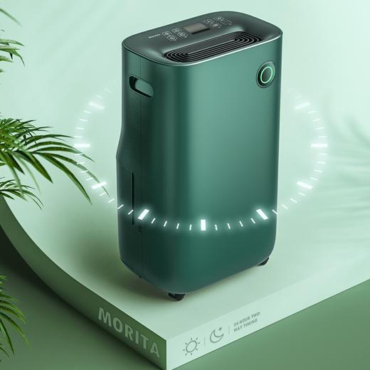 日本 MORITA 除湿机 家用室内去湿抽湿机房间干燥除潮吸湿神器 商品图5