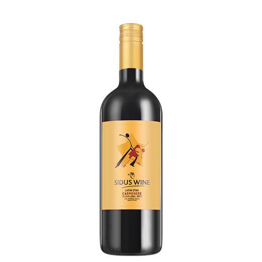 拉丁之星金标 佳美娜干红葡萄酒375ml 商品图1