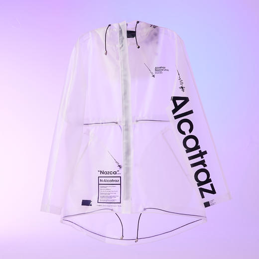 Alcatraz 潮牌风衣雨衣雨披 TPU 潮服设计师 NAZAC 男女同款 商品图7