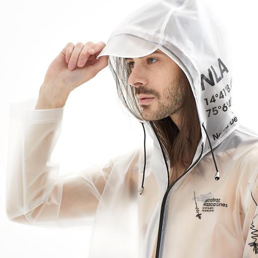 Alcatraz 潮牌风衣雨衣雨披 TPU 潮服设计师 NAZAC 男女同款 商品图2