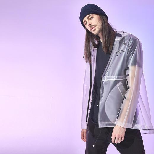 Alcatraz 潮牌风衣雨衣雨披 TPU 潮服设计师 NAZAC 男女同款 商品图11