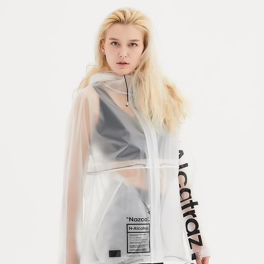 Alcatraz 潮牌风衣雨衣雨披 TPU 潮服设计师 NAZAC 男女同款 商品图10
