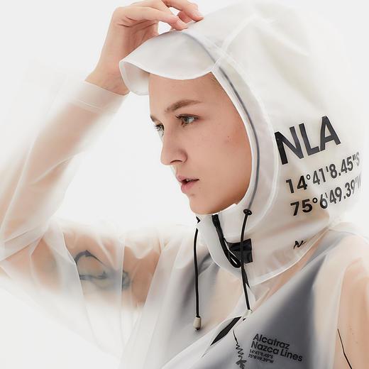 Alcatraz 潮牌风衣雨衣雨披 TPU 潮服设计师 NAZAC 男女同款 商品图5