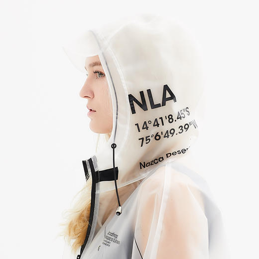 Alcatraz 潮牌风衣雨衣雨披 TPU 潮服设计师 NAZAC 男女同款 商品图9