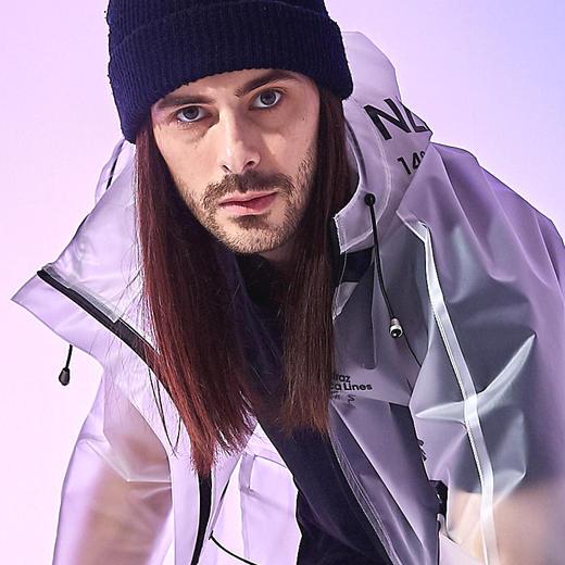 Alcatraz 潮牌风衣雨衣雨披 TPU 潮服设计师 NAZAC 男女同款 商品图6