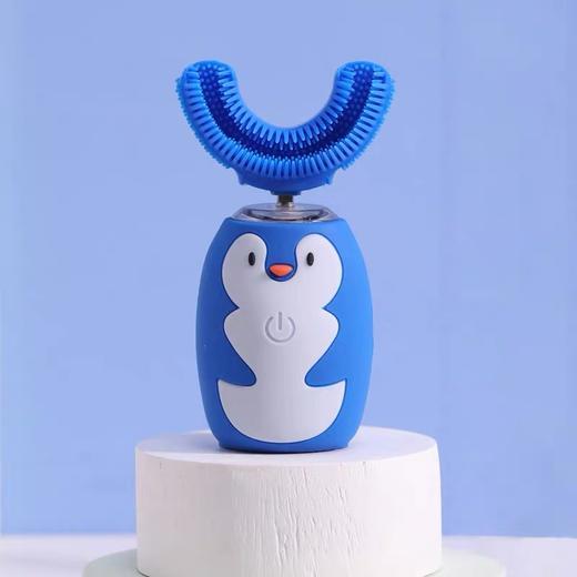 【让宝宝爱上刷牙】艾诗摩尔全自动宝宝儿童电动u型口含式牙刷(赠送木糖醇慕斯牙膏60ml/1支) 商品图7