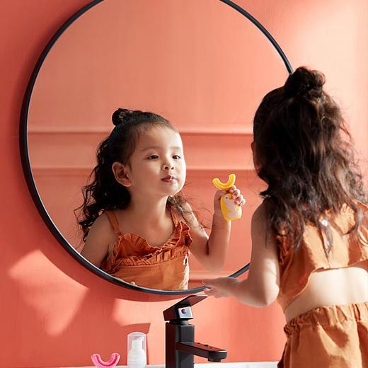【让宝宝爱上刷牙】艾诗摩尔全自动宝宝儿童电动u型口含式牙刷(赠送木糖醇慕斯牙膏60ml/1支) 商品图11