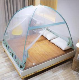 蒙古包免安装蚊帐
