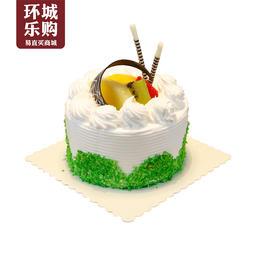 四寸水果蛋糕-018009