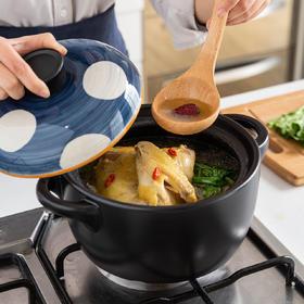 摩登主妇青瑶日式砂锅煲汤家用小沙锅燃气煲仔饭专用炖锅陶瓷锅
