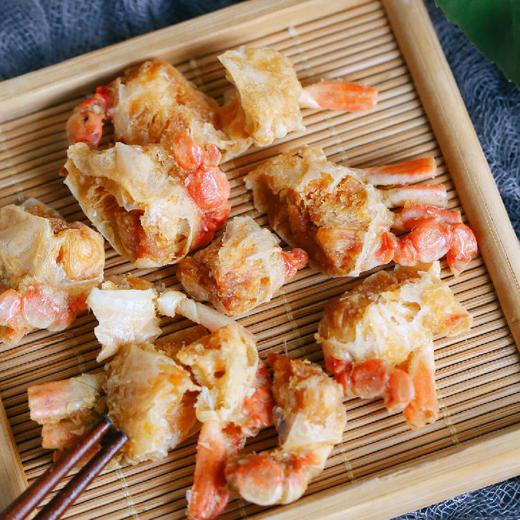 【积分加价购】[脆虾脆蟹组合]原味脆蟹40g*2盒+海苔脆虾26g*3盒 商品图1