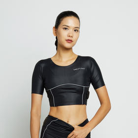 BODYTIME瘦手臂神器EMS女胳膊燃脂减拜拜肉蝴蝶臂健身衣短袖运动上衣